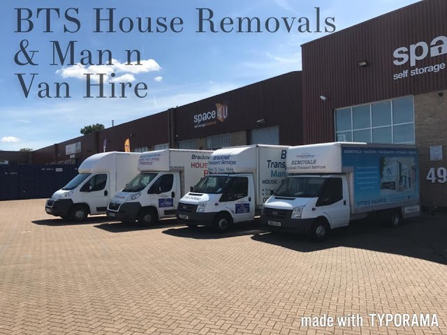 BTS House Removals & Man and Van Services
